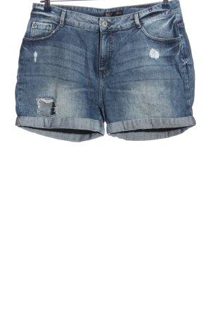 C&A Shorts blau Street-Fashion-Look