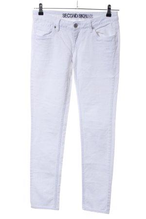 C&A Slim Jeans weiß Casual-Look