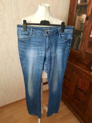 C&A Jeans slim fit blu acciaio