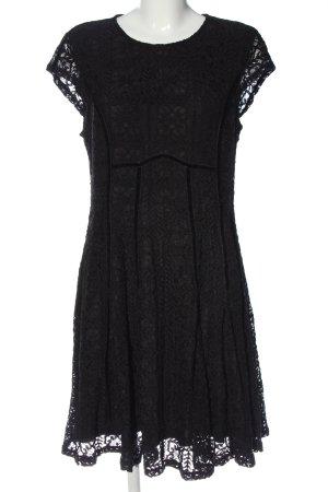 C&A Spitzenkleid schwarz Elegant