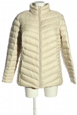 C&A Quilted Jacket natural white quilting pattern casual look