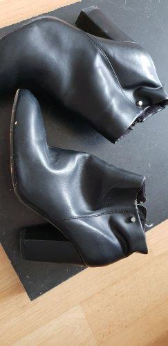 C&a stiefel Boots schuhe Boohoo Damen Schwarz