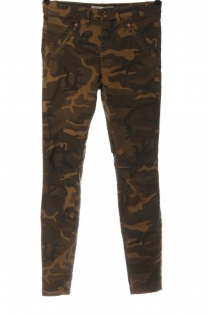 C&A Stoffhose Allover-Druck Casual-Look
