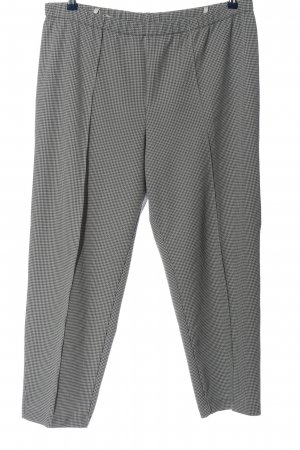 C&A Jersey Pants light grey-black allover print casual look