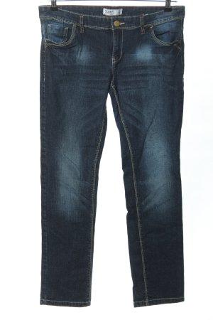 C&A Jeans a gamba dritta blu stile casual