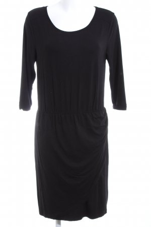 C&A Vestido elástico negro look casual
