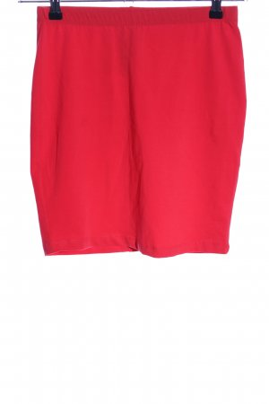 C&A Stretch Skirt red casual look