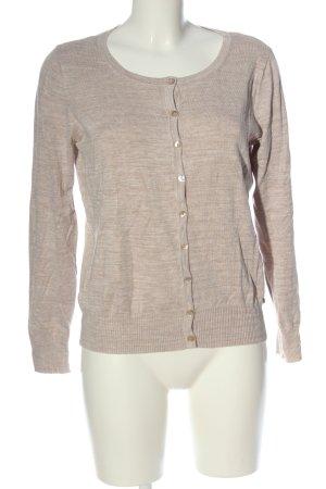 C&A Cardigan tricotés blanc cassé motif rayé style décontracté