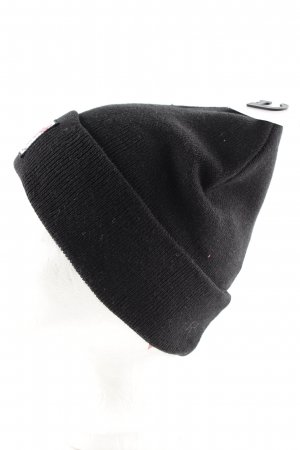 C&A Knitted Hat black casual look