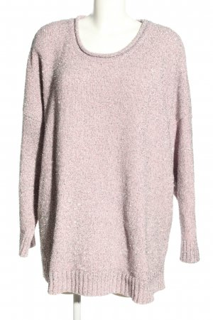 C&A Strickpullover pink meliert Casual-Look