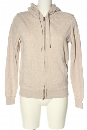 C&A Sweat Jacket natural white flecked casual look
