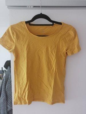 C&A Basics T-Shirt dark yellow-gold orange cotton