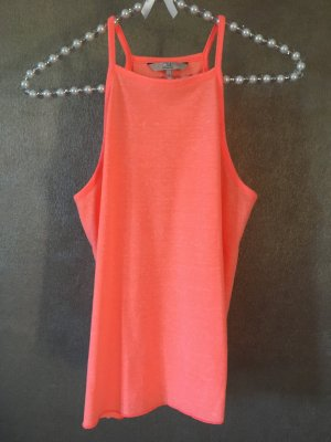 C&A Top Trägertop Camisole orange koralle Gr. S