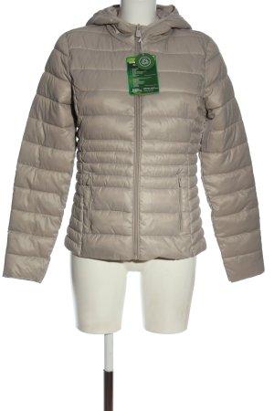 C&A Between-Seasons Jacket light grey quilting pattern casual look