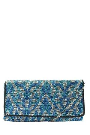C&A Umhängetasche blau-wollweiß Casual-Look
