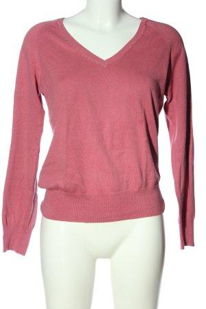 C&A V-Ausschnitt-Pullover pink Casual-Look