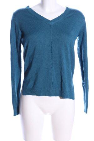 C&A V-Ausschnitt-Pullover blau Casual-Look