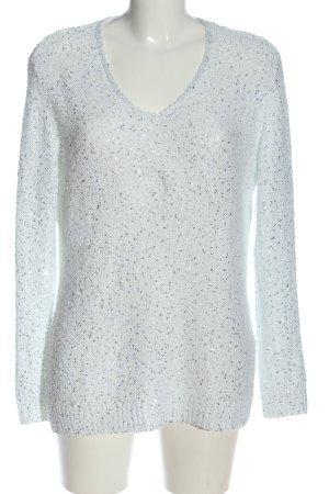 C&A V-Ausschnitt-Pullover hellgrau Casual-Look