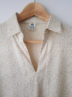 C&A Vintage Bluse gepunktet Gr. M-L