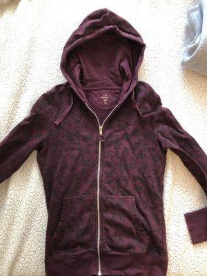 C&A Hooded Vest brown violet