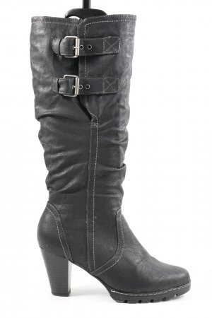 C&A Winter Boots black casual look