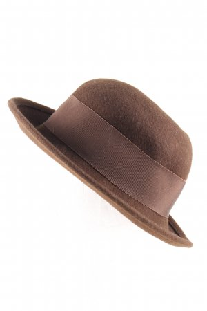 C&A Woolen Hat brown elegant