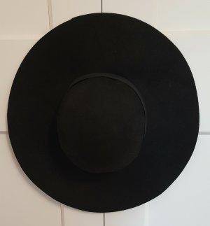 C&A Wollen hoed zwart Wol