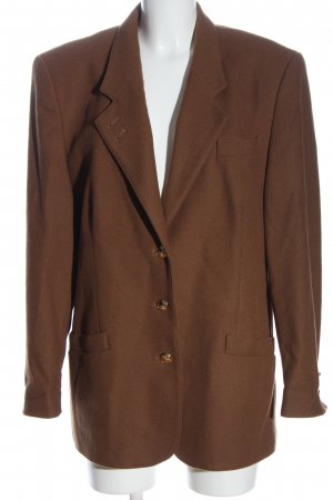 C&A Lange blazer bruin zakelijke stijl
