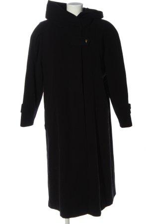 C&A Abrigo de lana negro look casual