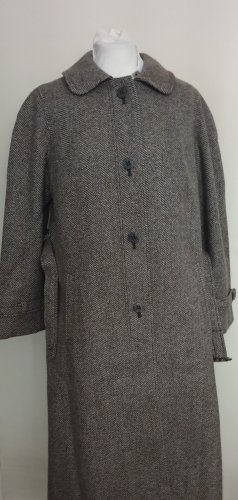 C&A Wollen jas grijs-bruin-beige Wol