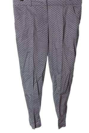 C&A Yessica Pantalon 7/8 noir-blanc imprimé allover style décontracté