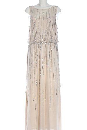 C&A Yessica Abendkleid wollweiß-silberfarben Elegant