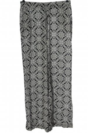 C&A Yessica Baggy Pants black-white abstract pattern casual look