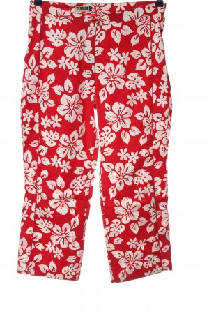 C&A Yessica Baggy Pants rot-weiß Allover-Druck Casual-Look