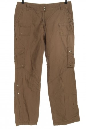 C&A Yessica Cargo Pants brown casual look