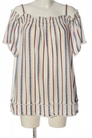 C&A Yessica Carmen-Bluse Streifenmuster Casual-Look