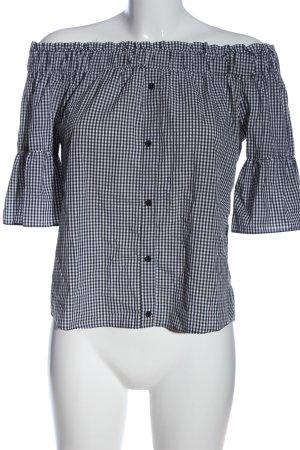 C&A Yessica Bluzka typu carmen czarny-biały Na całej powierzchni