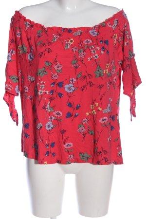 C&A Yessica Blouse Carmen motif de fleur style décontracté