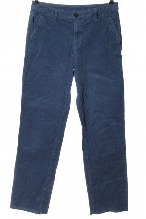 C&A Yessica Corduroy Trousers blue casual look