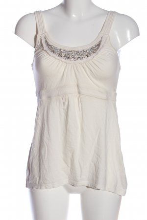 C&A Yessica Haut taille empire blanc style décontracté