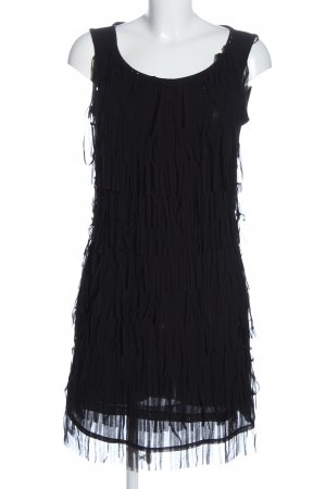 C&A Yessica Fringed Dress black party style