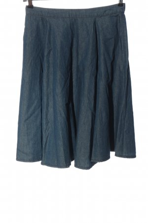 C&A Yessica Flared Skirt blue casual look