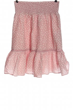 C&A Yessica Glockenrock pink-weiß Punktemuster Casual-Look
