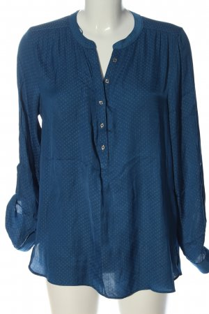 C&A Yessica Shirt Blouse blue allover print business style