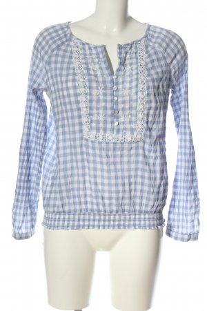 C&A Yessica Shirt Blouse blue-white allover print casual look