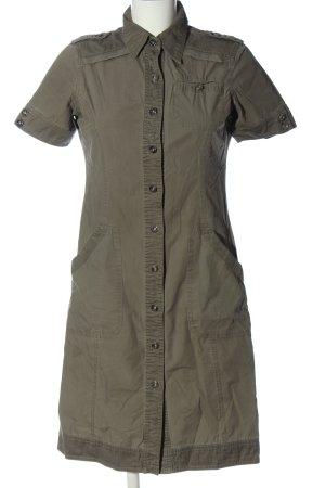C&A Yessica Shirtwaist dress khaki casual look