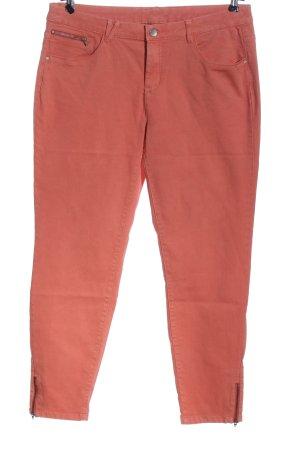 C&A Yessica Spodnie z wysokim stanem czerwony W stylu casual
