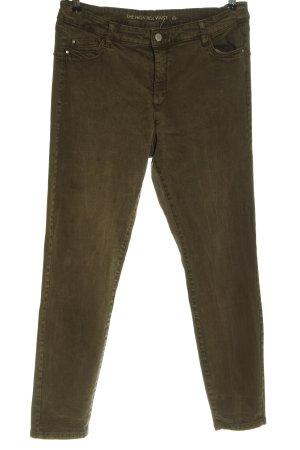 C&A Yessica High Waist Jeans khaki casual look