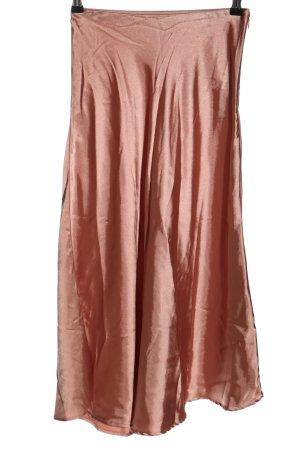 C&A Yessica Falda de talle alto marrón elegante