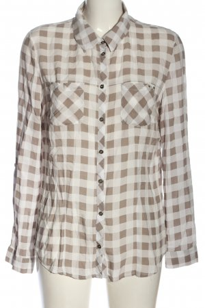 C&A Yessica Lumberjack Shirt brown-natural white check pattern casual look
